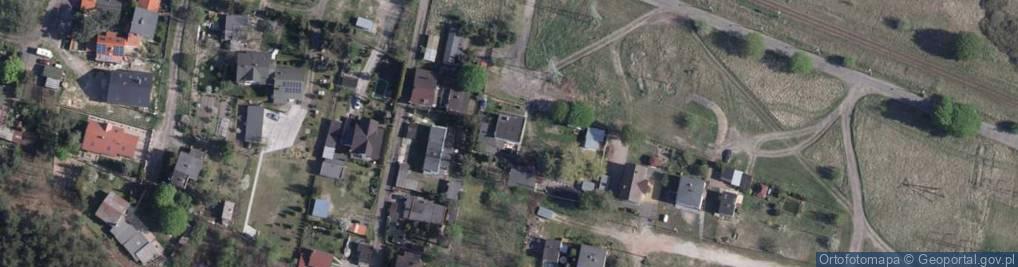 Zdjęcie satelitarne Zakręt ul.