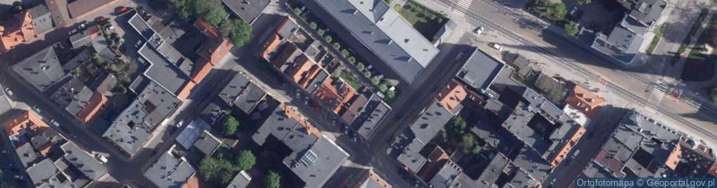 Zdjęcie satelitarne Zaszpitalna ul.