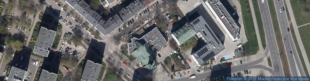 Zdjęcie satelitarne Zagórna ul.