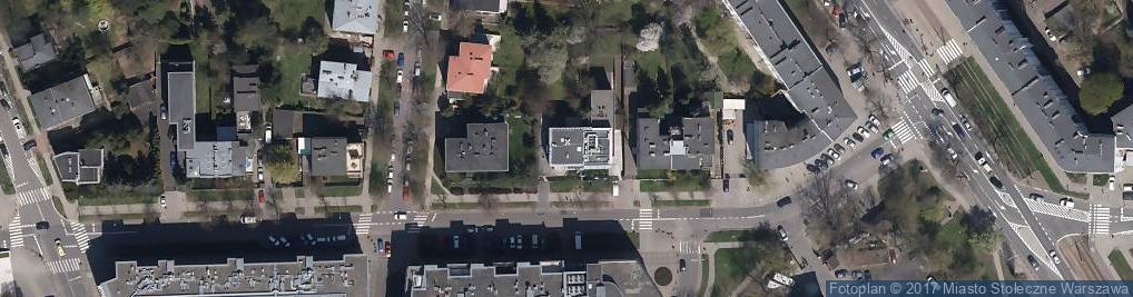 Zdjęcie satelitarne Zajączka Józefa, gen. ul.