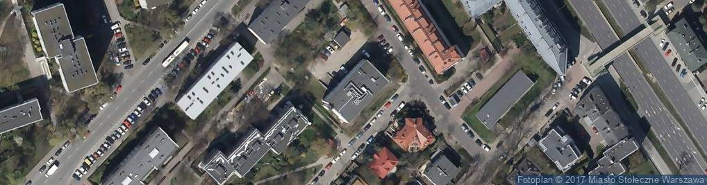 Zdjęcie satelitarne Zaniemyska ul.