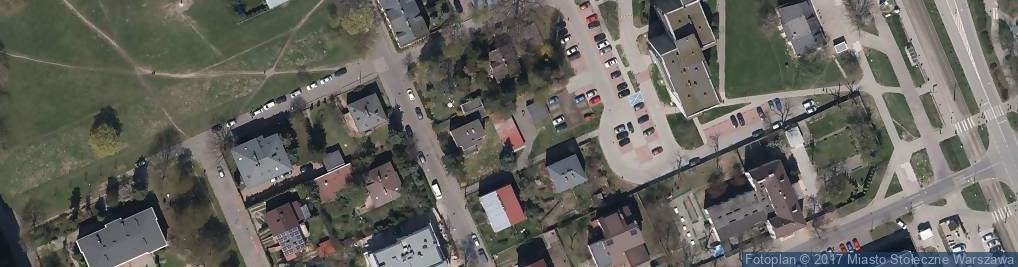 Zdjęcie satelitarne Zagraniczna ul.
