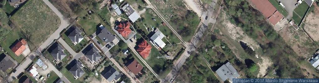 Zdjęcie satelitarne Zagórzańska ul.