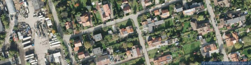 Zdjęcie satelitarne Zabłocie ul.