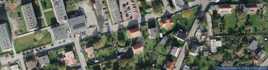 Zdjęcie satelitarne Zaolziańska ul.