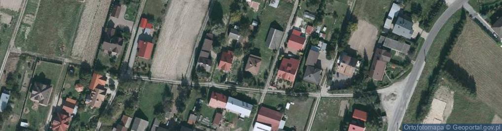 Zdjęcie satelitarne Zaczernie ul.