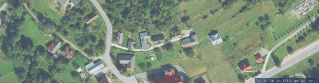 Zdjęcie satelitarne Zalesie ul.