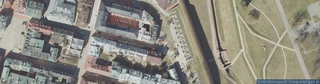 Zdjęcie satelitarne Zamenhofa Ludwika, dr. ul.