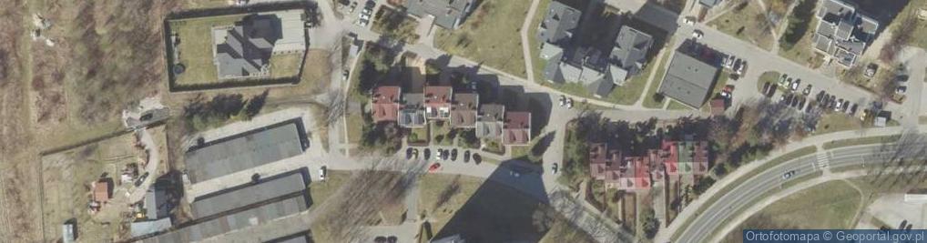 Zdjęcie satelitarne Zamoyskiego Jana, hetm. ul.