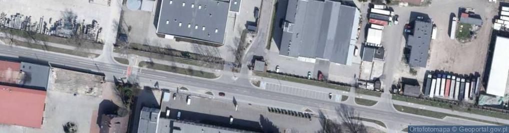 Zdjęcie satelitarne Zbąszyńska ul.