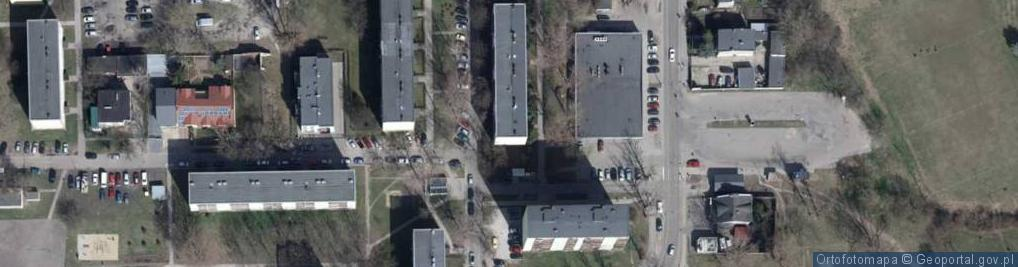 Zdjęcie satelitarne Zbożowa ul.