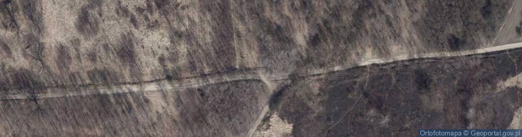Zdjęcie satelitarne Zbójnicka ul.
