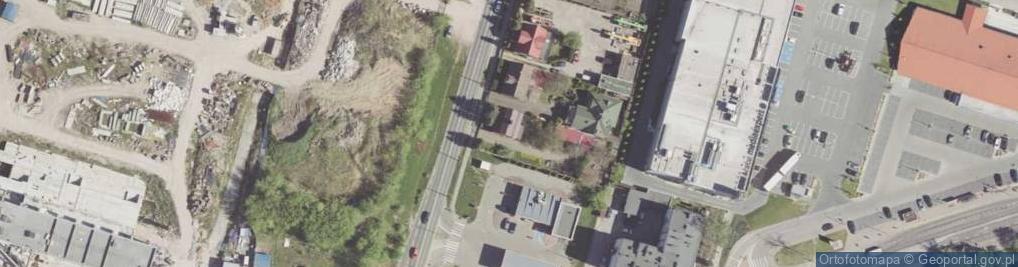 Zdjęcie satelitarne Zbrowskiego Stanisława ul.