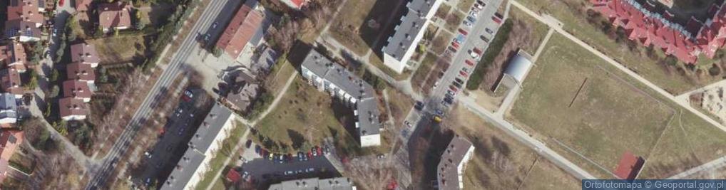 Zdjęcie satelitarne Zbyszewskiego Wiktora ul.