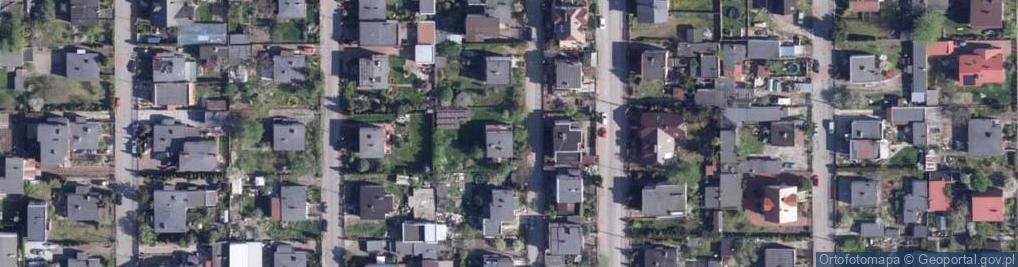 Zdjęcie satelitarne Żbikowa ul.
