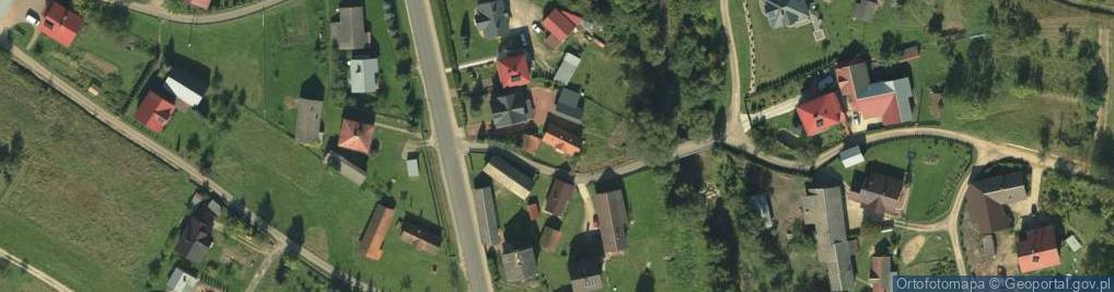 Zdjęcie satelitarne Zbludza ul.