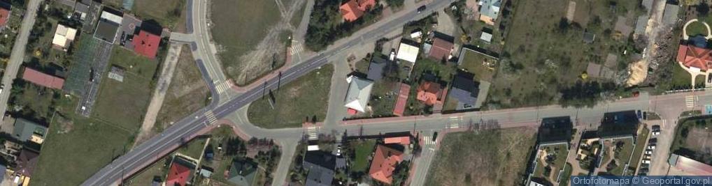 Zdjęcie satelitarne Zdziarska ul.