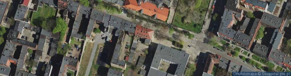 Zdjęcie satelitarne Żeromskiego Stefana ul.