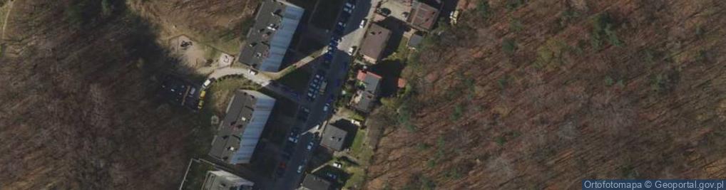 Zdjęcie satelitarne Żeliwna ul.
