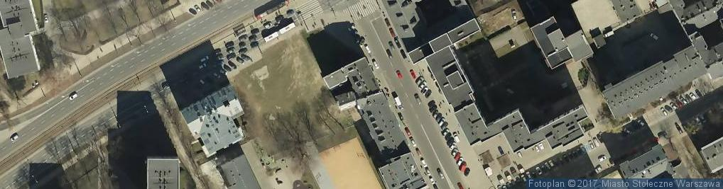Zdjęcie satelitarne Żelazna ul.