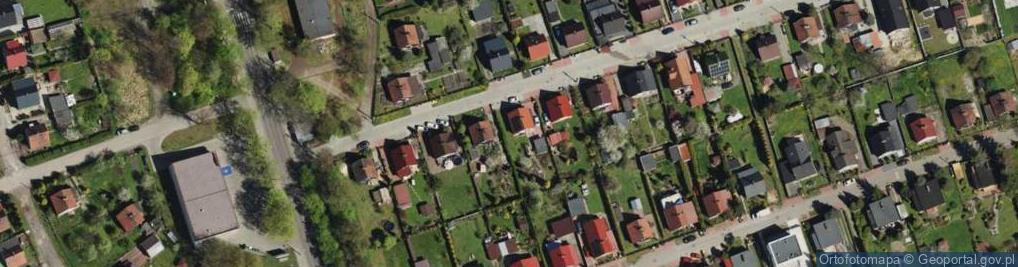 Zdjęcie satelitarne Zgody ul.