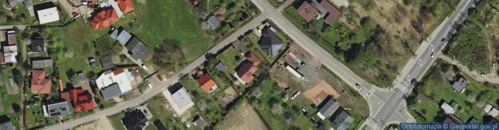 Zdjęcie satelitarne Zgrzebnioka Alfonsa ul.