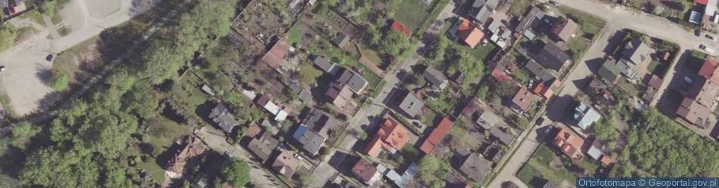 Zdjęcie satelitarne Zgodna ul.