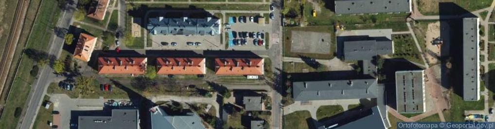 Zdjęcie satelitarne Ziemi Chełmińskiej ul.