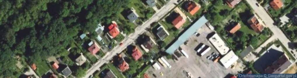 Zdjęcie satelitarne Zientary-Malewskiej Marii ul.