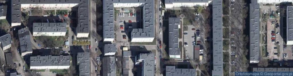 Zdjęcie satelitarne Zielna ul.