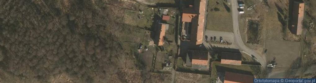 Zdjęcie satelitarne Zielone Łąki ul.
