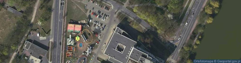 Zdjęcie satelitarne Zimińskiej-Sygietyńskiej Miry ul.
