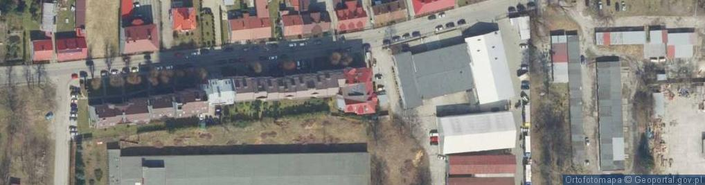 Zdjęcie satelitarne Zielińskiego Zygmunta ul.