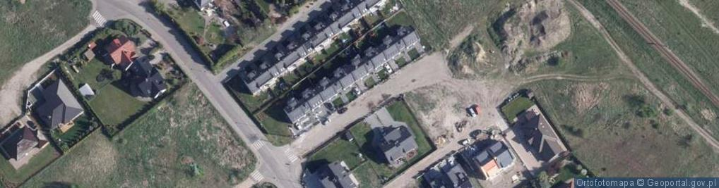 Zdjęcie satelitarne Zielonogórska ul.