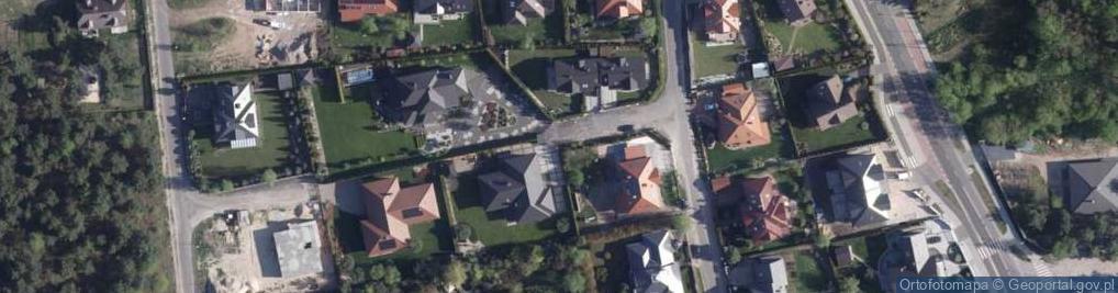 Zdjęcie satelitarne Zimorodka ul.