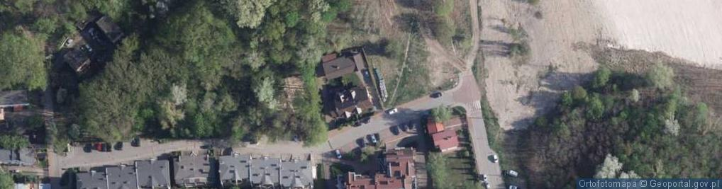 Zdjęcie satelitarne Zimowa ul.