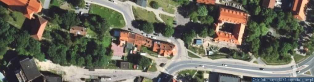 Zdjęcie satelitarne Zjazdowa ul.