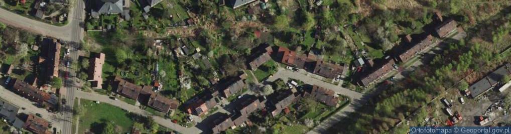 Zdjęcie satelitarne Zjednoczenia ul.