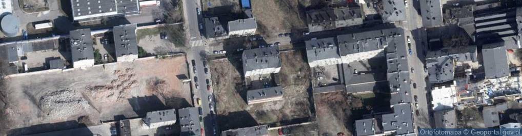 Zdjęcie satelitarne Złota ul.