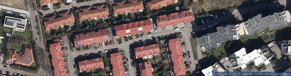 Zdjęcie satelitarne Złotego Smoka ul.