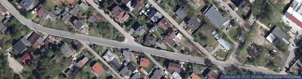 Zdjęcie satelitarne Złotej Jesieni ul.