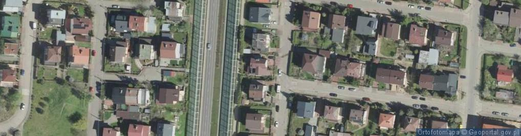 Zdjęcie satelitarne Żmichowskiej Narcyzy ul.