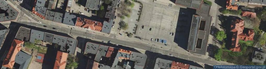 Zdjęcie satelitarne Żołnierza Polskiego ul.