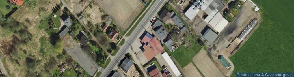 Zdjęcie satelitarne Żołnierska ul.