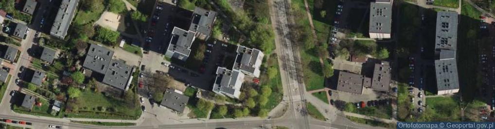 Zdjęcie satelitarne Żołnierzy Września ul.
