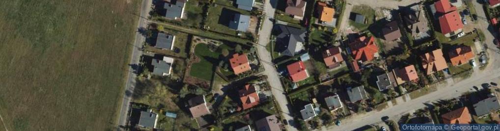 Zdjęcie satelitarne Żonkilowa ul.