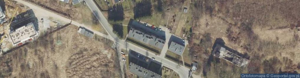 Zdjęcie satelitarne Żołnierzy 1 Armii Wojska Polskiego ul.