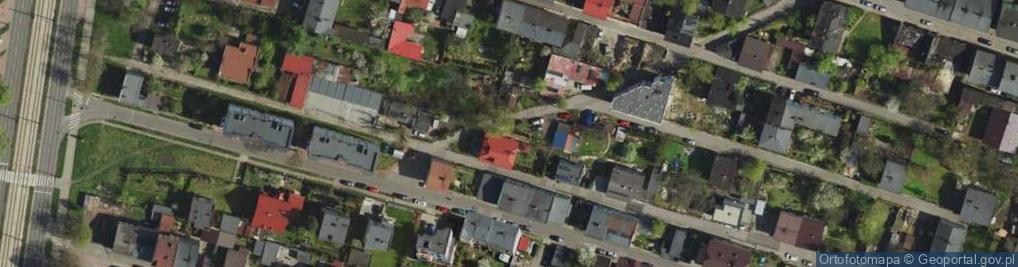 Zdjęcie satelitarne Żółta ul.