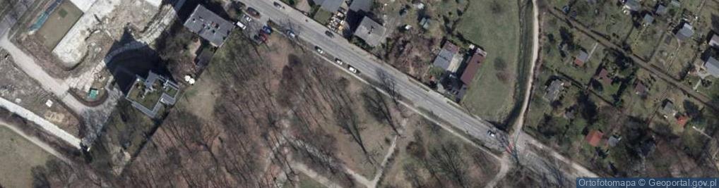 Zdjęcie satelitarne Źródłowa ul.