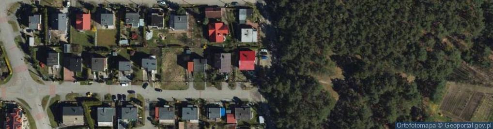 Zdjęcie satelitarne Żuławska ul.
